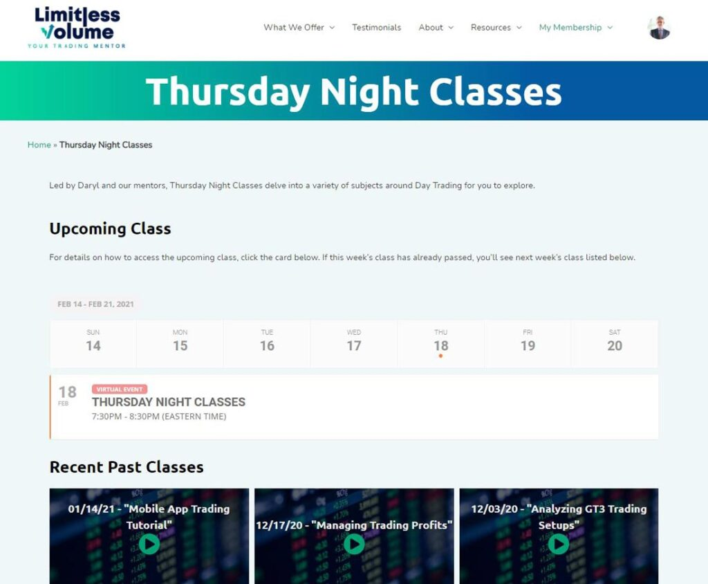 Day Trading Live Classes